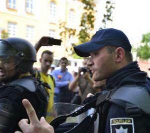 Полицейский, который мешал съемке
